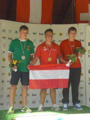 Kevin Feuchtl Jugend Europameister 2011
